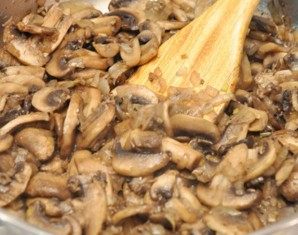 Жульен с рыбой и грибами   - фото шаг 2