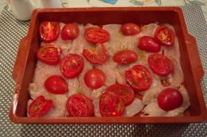 Отбивные в духовке с помидорами и сыром - фото шаг 2