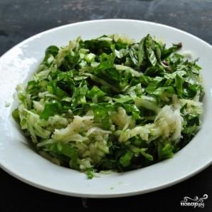 Тайский салат с дайконом - фото шаг 7