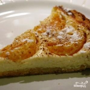Творожный пирог с мандаринами - фото шаг 9