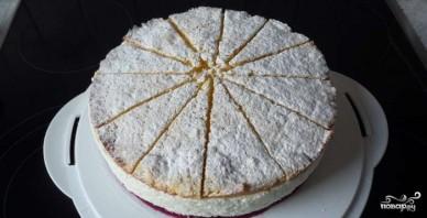 Творожно-сливочный торт - фото шаг 7