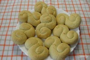 Быстрый рецепт домашнего печенья - фото шаг 6