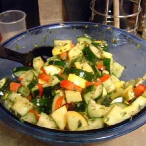 Лингвини с овощами - фото шаг 3