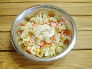 Салат к пиву - фото шаг 6