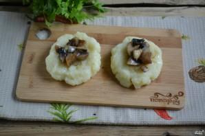 Постные картофельные котлеты с грибами - фото шаг 4