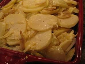 Картофельная запеканка с фенхелем - фото шаг 4