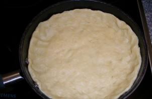 Пирог с мясом на сковороде - фото шаг 4