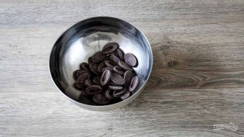 Праздничный шоколадный мусс - фото шаг 2