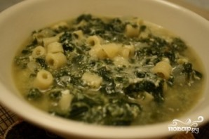 Итальянский суп с макаронами - фото шаг 4