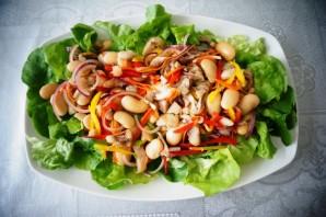 Овощной салат с филе сельди - фото шаг 5