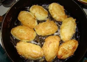 Манник на сковороде - фото шаг 5