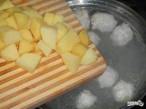 Суп из фрикаделек с вермишелью - фото шаг 4
