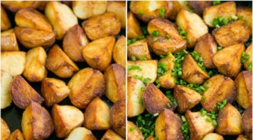 Молодой картофель обжаренный - фото шаг 5