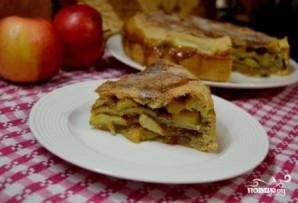 Яблочный пирог в духовке - фото шаг 19