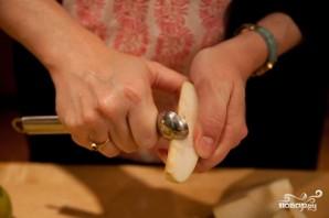 Пирог с грушами и яблоками - фото шаг 8
