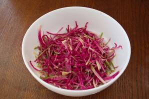 Салат с сыром и овощами - фото шаг 1