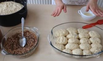 Пирожки в духовке с мясом и другой начинкой - фото шаг 12