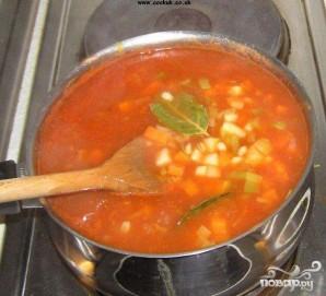 Зимний овощной суп - фото шаг 4