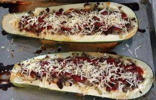 Говядина с кабачками в духовке   - фото шаг 4