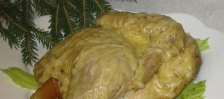 Курица с грушами в мультиварке - фото шаг 4