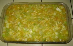 Запеканка из кабачков с сыром - фото шаг 8