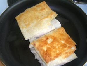 Горячие бутерброды из лаваша - фото шаг 6