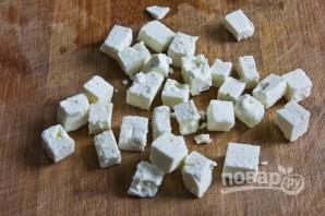 Салат с болгарским перцем и сыром - фото шаг 7