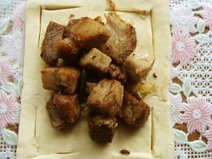Слойки с мясом - фото шаг 3