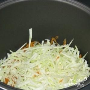 Капуста с рисом в мультиварке - фото шаг 2