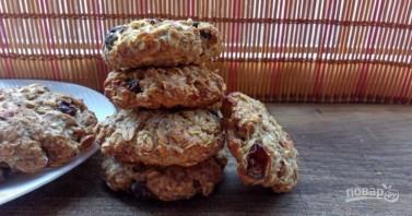 Овсяное печенье с кефиром - фото шаг 9