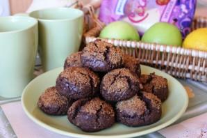 Орехово-шоколадное печенье - фото шаг 8