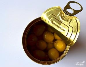 "Салат ""Цезарь"" с оливками - фото шаг 5"