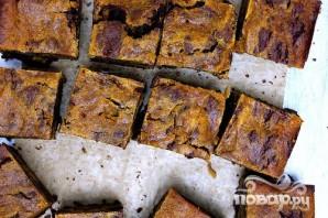 Тыквенно-шоколадные пирожные - фото шаг 6