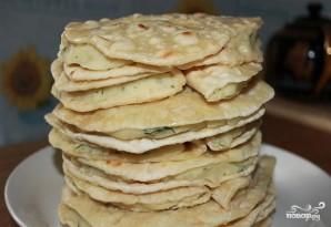 Татарские лепешки с картошкой - фото шаг 6