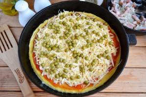 Омлет в стиле пиццы - фото шаг 8