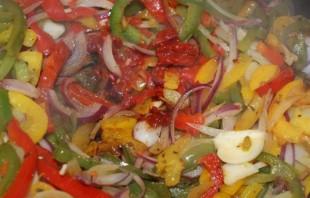 Мясо с овощами - фото шаг 5
