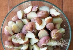Картофельный салат с сыром - фото шаг 5