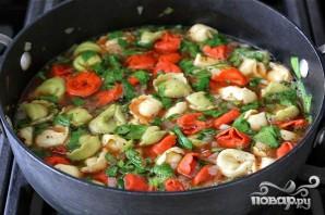 Суп с тортеллини - фото шаг 5