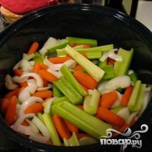 Жареная индейка с овощами - фото шаг 3