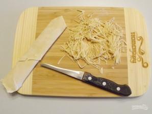 Тесто на лапшу - фото шаг 6