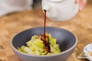 Маринованная капуста с острым перцем - фото шаг 9
