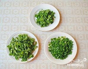 Весенний зеленый суп со щавелем - фото шаг 2
