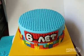 "Торт с человечками ""Лего"" - фото шаг 6"
