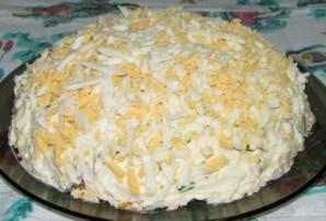 Салат с колбасным сыром - фото шаг 14