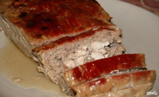 Мясной хлеб из фарша - фото шаг 5