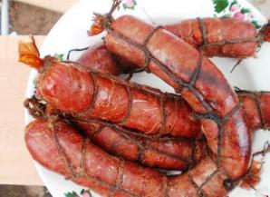 Домашняя колбаса копченая - фото шаг 4