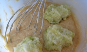 Кабачковые оладьи с сыром - фото шаг 4