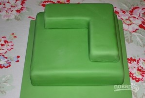 "Рецепт торта ""Майнкрафт"" - фото шаг 7"