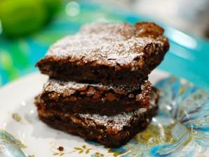 Шоколадный пирог с Нутеллой  - фото шаг 12