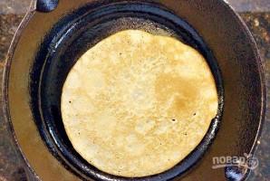 Закусочные блинчики - фото шаг 4
